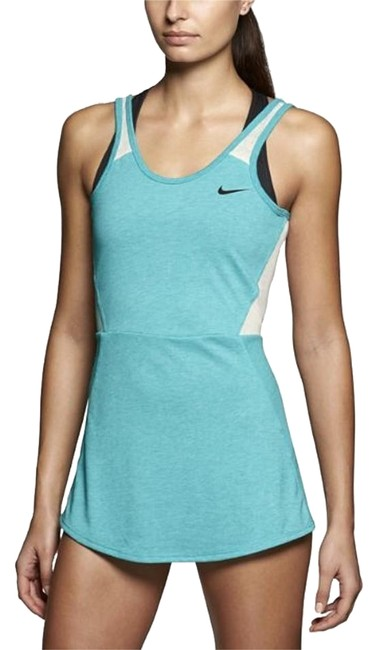 Item - Blue/Green and White Tennis/Drifit Activewear Top Size 4 (S, 27)