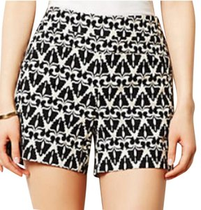Cartonnier Mini/Short Shorts Black and White