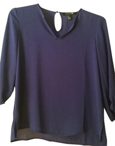 Forever 21 Royal Blue Blouse Size 4 S Tradesy
