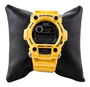 G-Shock * G-Shock Men's Yellow Resin Strap Watch G7900A-4