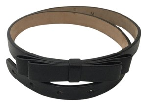Gucci Gucci Size Medium Black Belt with Bow
