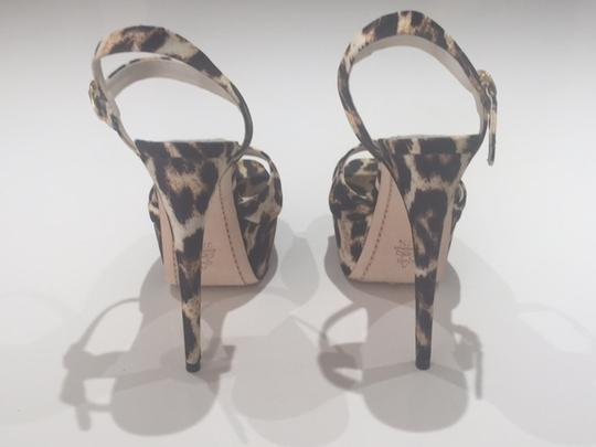 Alice + Olivia Leopard Sandals