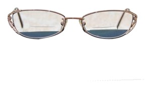 Fendi Fendi Metal Full Rim with Swarovski Crystals Eyeglass Frames.