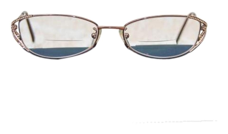 Fendi Copper Metal Full Rim with Swarovski Crystals Eyeglass Frames ...