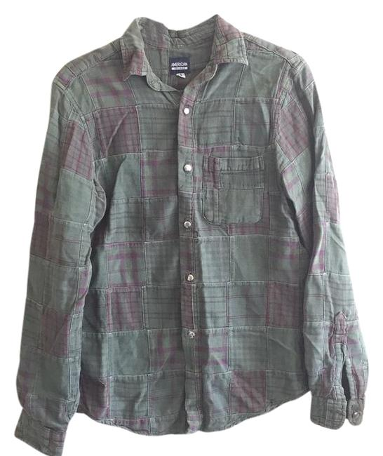 Green Plaid Button Down Shirt 19447188 Button Downs