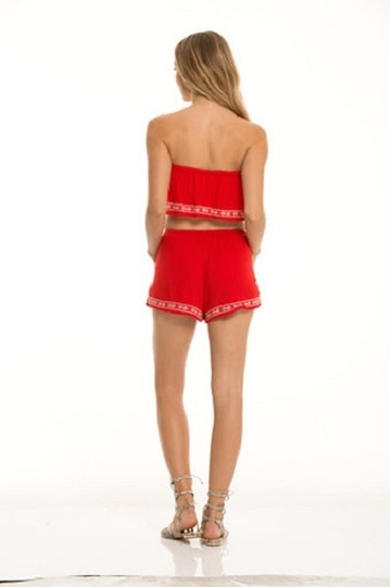 Elan Red Summer Fire Set Romper/Jumpsuit - 30% Off Retail 85%OFF