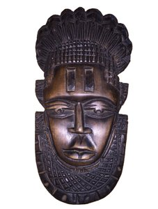 African Tribal Face Wall Hanging/Coffee Table Piece [ SisterSoul Closet ]
