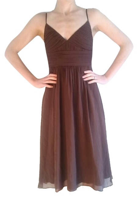 Preload https://item4.tradesy.com/images/max-and-cleo-brown-mid-length-formal-dress-size-2-xs-1944748-0-0.jpg?width=400&height=650