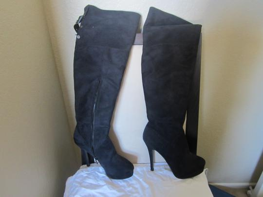 Charles by Charles David Black Suede Boots
