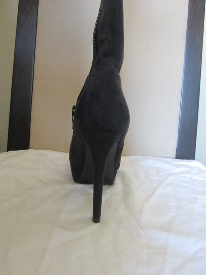Charles by Charles David Black Suede Boots Image 3