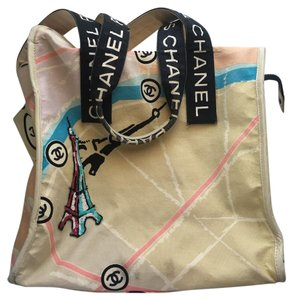Chanel Designer Canvas Tote in Multicolor