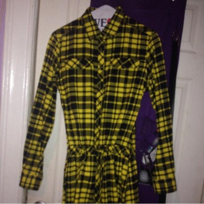 Married to the Mob short dress Yellow Plaid on Tradesy Image 2