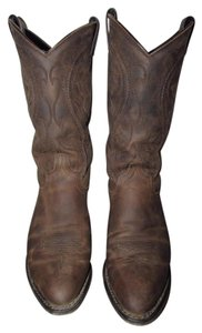 Sage Cowboy American Vintage Distressed Leather Boots