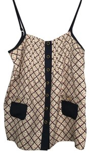 Juicy Couture Print Silk Top