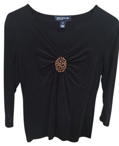 Jones New York Stretch Embellished Top