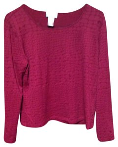 Talbots T Shirt Dark Brick Red