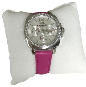 Coach Boyfriend leather watch