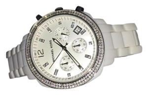 Michael Kors Michael by Michael Kors White Crystal Embellished Watch