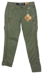 Grane Cargo Pants Fatigue Green