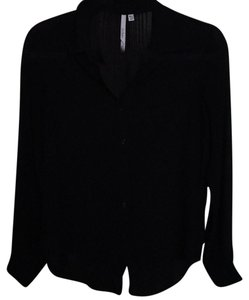 Bellatrix Button Down Shirt Black