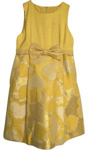 Marc by Marc Jacobs Metallic Bow Shimmer Dress