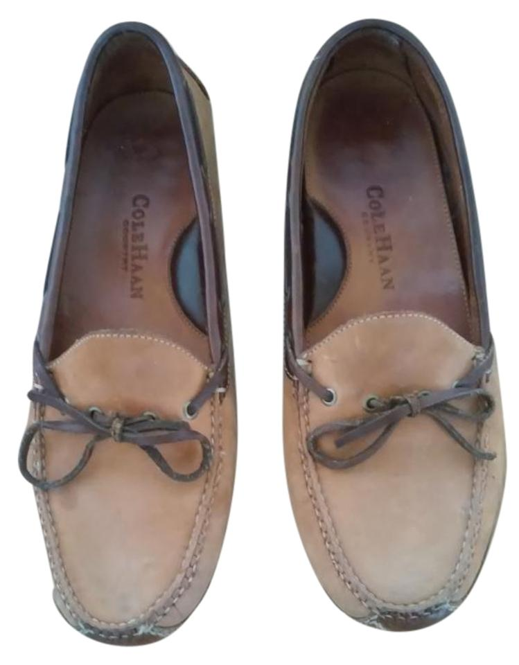 ef4ed9de3b6 Cole Haan Brown Driving   Country Flats Size US 9.5 Regular (M