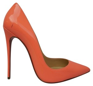 Christian Louboutin Flamingo Peach Pumps