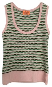 Juicy Couture Cashmere Knit Vest Sleeveless Scoop Neck Top