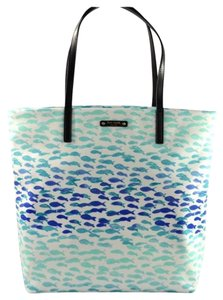 Kate Spade Ks Mk Chanel Tote in Blue