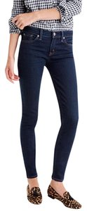 J.Crew Denim Classic Skinny New Machine Washable Skinny Jeans-Dark Rinse