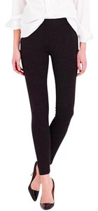 J.Crew Ponte Pixie Black Leggings