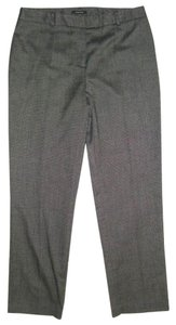 Jones New York Black Size 12 Relaxed Pants herringbone