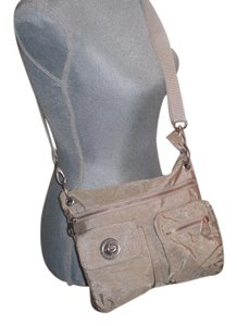 Baggallini Travel Nylon Cross Body Bag