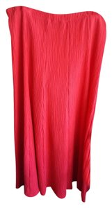 Susan Graver Maxi Skirt Red