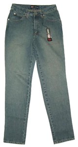Red Rose Small New Made In France Straight Leg Jeans