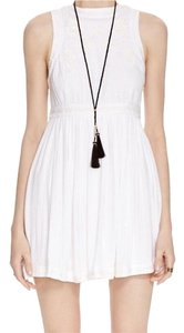 Free People short dress White on Tradesy