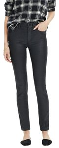 Madewell Stylish Trendy Chic Denim Coated Skinny Jeans-Coated