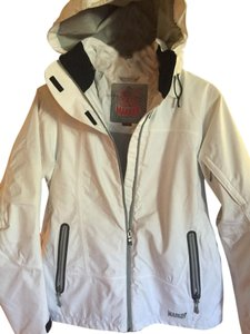 Marker Snowboard Insulated Ski Sport White Jacket