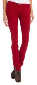 Current/Elliott Skinny Pants red