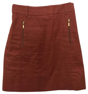 Tory Burch Mini Skirt Burnt orange