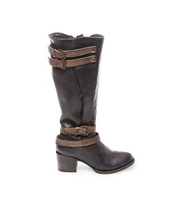 FreeBird By Steven Clive High Multi Leather Size Black Boots