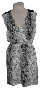 W118 by Walter Baker short dress Gray Snakeskin Animal Print Cut-out on Tradesy