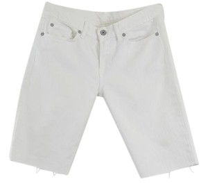 7 For All Mankind Bermuda Shorts White
