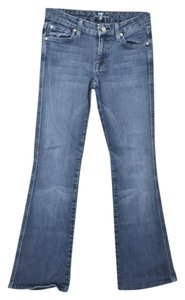 7 For All Mankind Embroidered Joes True Religion Flare Leg Jeans-Medium Wash