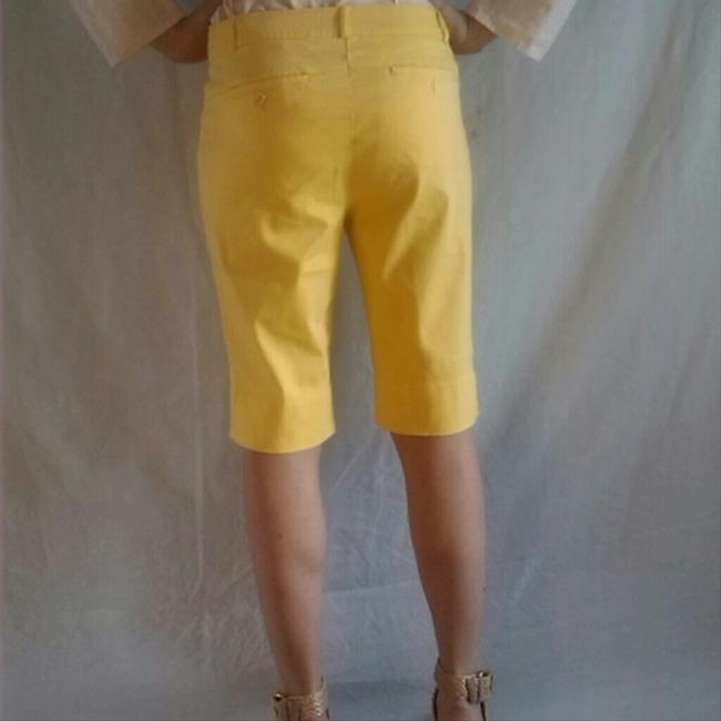 Tribal Shorts Yellow