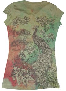 DAYTRIP T Shirt MULTI-COLOR PEACOCK