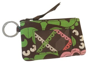 Vera Bradley Zip Up ID Case