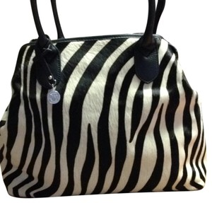 DKNY Satchel in Black & White