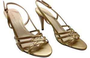 Ellen Tracy Gold & Silver Sandals