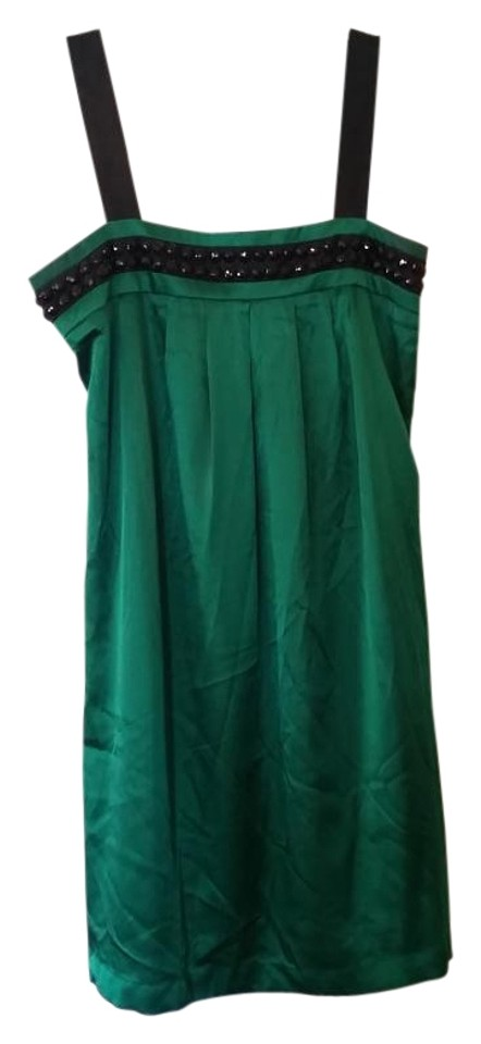 Forever 21 Emerald Green Great Gatsby Satin Flapper 20s 20s